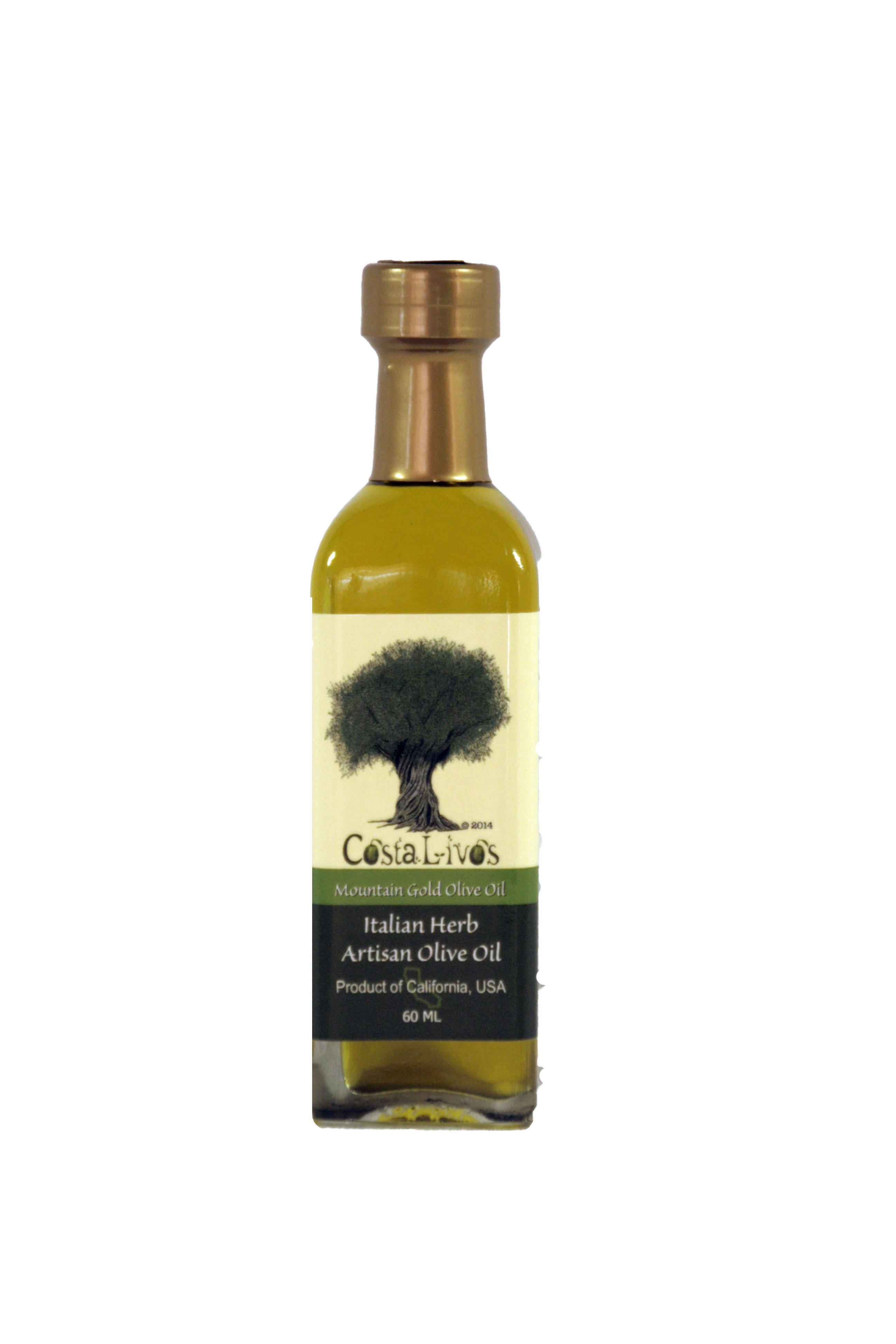 Italian Herb Blend Olive Oil | CostaLivos Mountain Gold ...